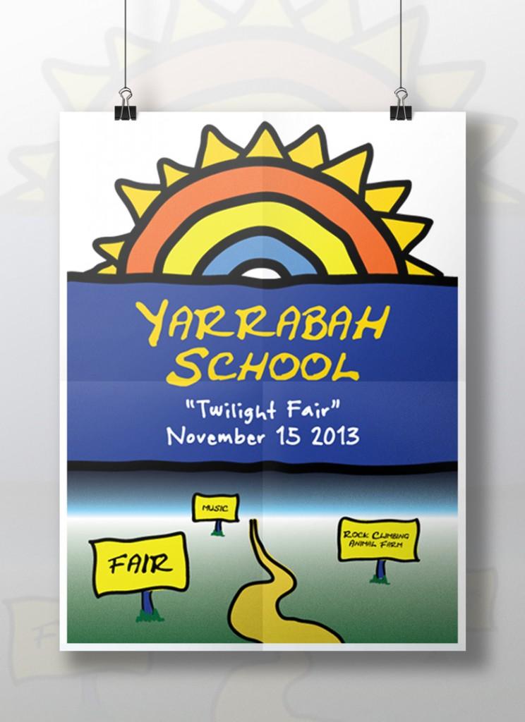 Poster designed for Yarrabah School