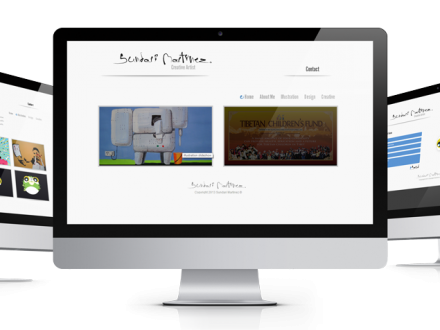 Sundari Martinez website design