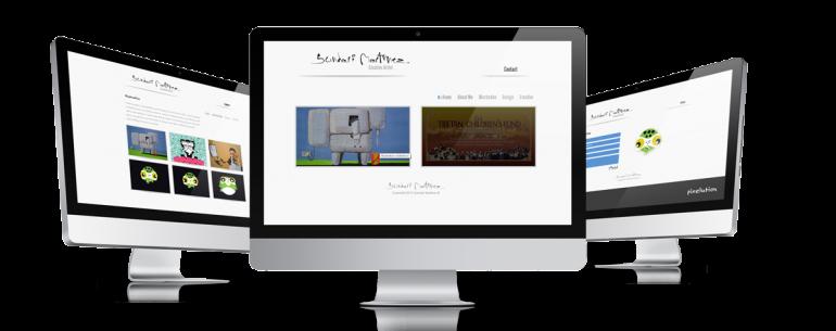 Sundari Martinez website design