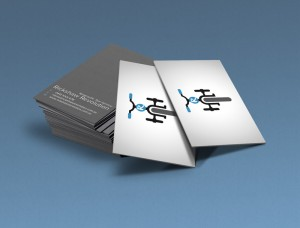 Business card design for Rickshaw Revolution