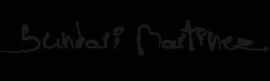 Sundari Martinez digital signature branding