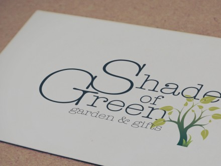Shades of Green logo design