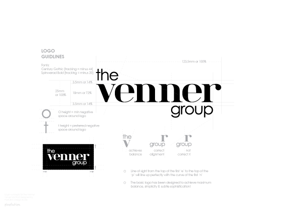 Branding guide - The Venner Group