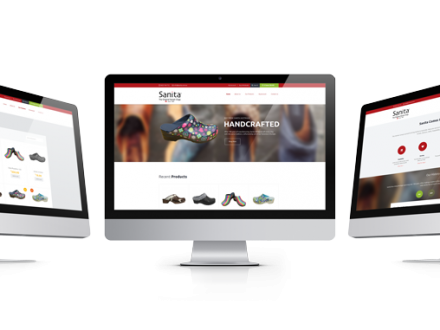 eCommerce website for Sanita Australia