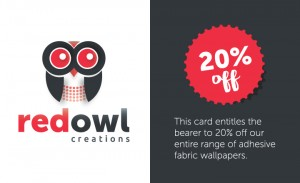 Custom design voucher and branding