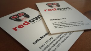 Red Owl Business Cards